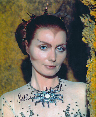 Catherine Schell SIGNED photo - J124 - Space: 1999