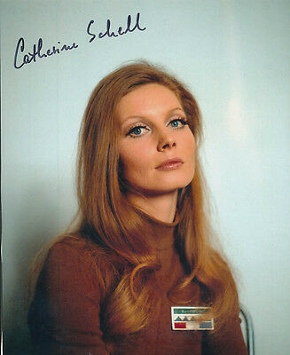 Catherine Schell SIGNED photo - J129 - Space: 1999 and Moon Zero Two