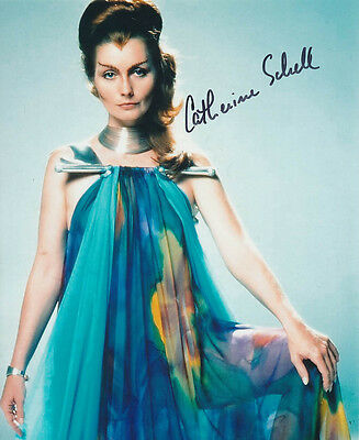 Catherine Schell SIGNED photo - J131 - Space: 1999