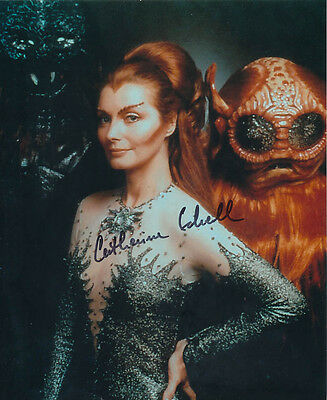 Catherine Schell SIGNED photo - J137 - Space: 1999