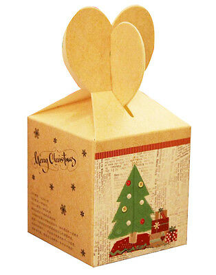 Set of 5 Exquisite Packaging/ Gift Boxes Christmas Gift Box  -Apple Box 02