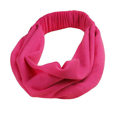 Indoor/Outdoor Decoration/Sports Hair Bands Yoga Running Headband-Rose Red