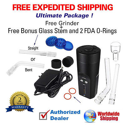2017 Arizer Solo  | Ultimate Package | Free Glass + Free Grinder