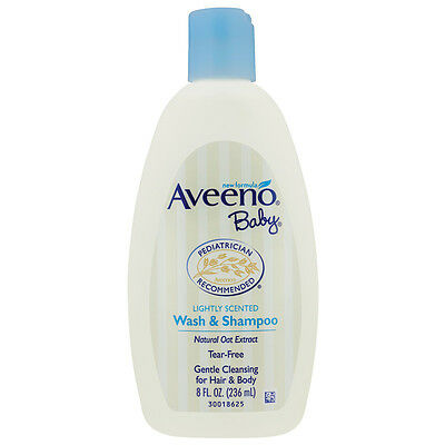 Aveeno BABY Wash & Shampoo 236ml *NEW* *MICHAEL VASILI CHEMIST*