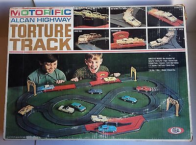 Vintage Motorific Alcan Highway Torture Track by IDEAL circa 1966