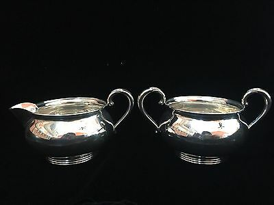 Vintage Fisher Sterling Cream & Sugar
