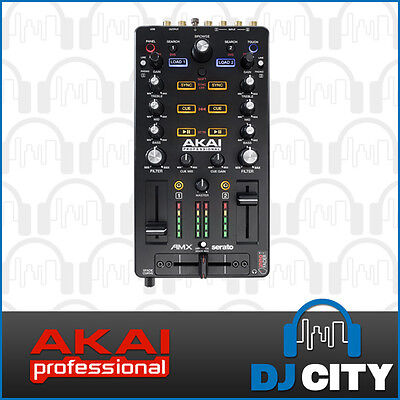 Akai AMX Mixing Surface w/ Audio Interface For Serato DJ - 12 month warranty ...
