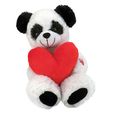 "10"" Chantilly Lane Roly Poly Panda Bear sings & sways Cant Get Enough of U Babe"