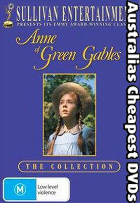 Anne of Green Gables: The Collection DVD NEW, FREE POSTAGE WITHIN AUST REGION 4