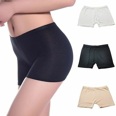 Women's Ladies Dancing Sport Shorts Spandex Elastic Pants Safety Underwear #01
