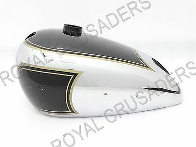 New Matchless G3L 3 Gallon Black Painted Petrol Tank(Reproduction) (Code634)