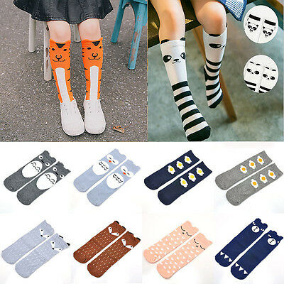 Kids Baby Toddlers Girls Knee High Socks Tights Leg Warmer Stockings For Age 0-6