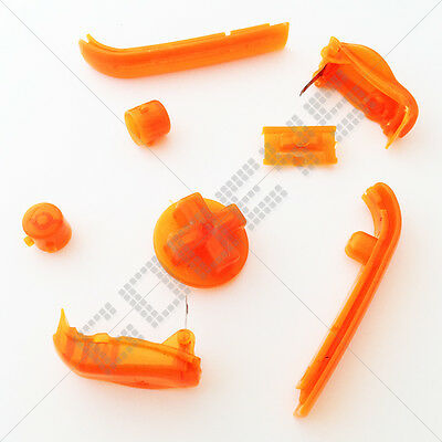 New Clear Orange Colour Replacement Buttons Nintendo Game Boy Advance GBA