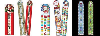 2 Christmas Party Greetings Card Holders Home Room Decoration Holds upto 60 Card