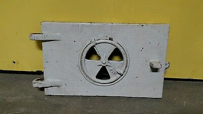 Reclaimed Vintage Industrial Incinerator Cast Iron Door Steampunk
