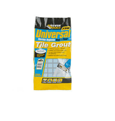 Everbuild 730 Universal Flexible Hygienic Wall & Floor Tile Grout - 5kg