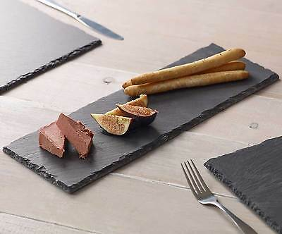 Natural Slate Table Runner Centre Mats Serving Platters Tableware