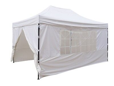 Carpa plegable de 3x4,5. Gazebo plegable fuerte. Impermeable. Pabellón plegable