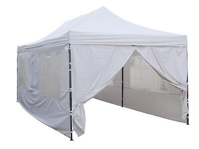 Carpa plegable de 3x6. Gazebo plegable ventanas. Impermeable. Pabellón plegable