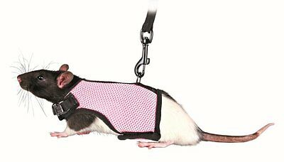 Trixie 61511 Harness for Small Animals for Rats Nylon 9 - 12 cm / 12 - 18 cm