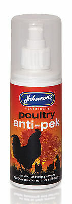 Johnsons Anti Pecking Spray  Poultry Anti Pek Pump Spray 0621