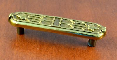 Set of 2 Mid-Century Keller Brass Gold KBC3 #38280-11 Furniture Pulls Holes 3""