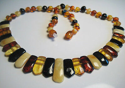 Genuine Baltic Amber Necklace 13.5 grams  !!!