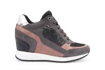 GEOX SCARPA Donna Invernale Sneaker Nydame D540Qa 0Ew22 - 30% - EUR ... 5996beeb484