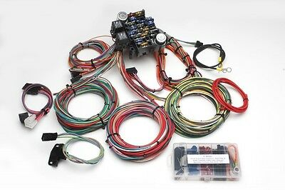 19 circuit wiring harness universal hot rod rat gasser pickup ford 19 circuit wiring harness universal hot rod rat gasser pickup ford chevy gm