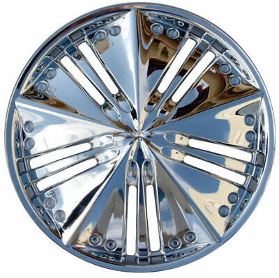 "Premium Chrome Wheel Covers 15"" SET OF 4 (#948)"