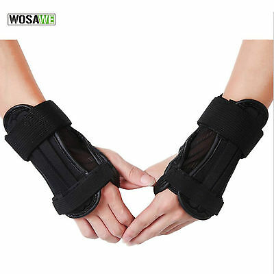Motorcycle Wrist Brace Motocross Racing Hand Guard Riding Skiing Protector Glove