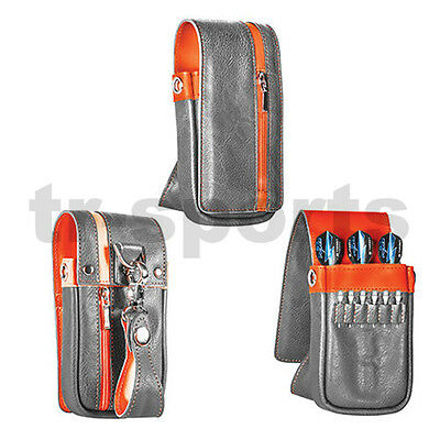 0Formula 1 Daytona Wallet Dart Case Grey / Orange for Phil Taylor Tungsten Darts