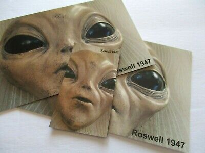"""Magnet """"1"""" Roswell1947 Ufo Alien Area 51 Souvenir Collectible #69"""