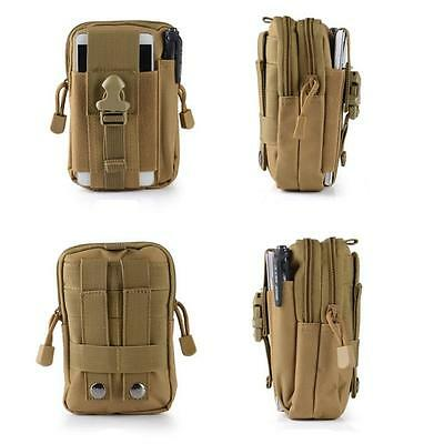 Fashion Tactical Military Waist Pack Molle Hiking Camping Multifunction Belt Bag