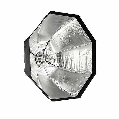 Softbox 120cm / 48in Octagon Softbox Bowens Mount Quick Setup For Studio Flash