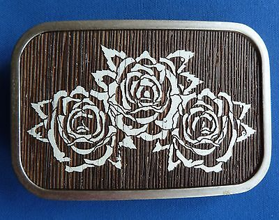 ROSES BELT BUCKLE By Buckle-Down USA