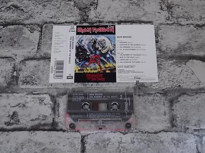 IRON MAIDEN - The Number Of The Beast / Cassette Album Tape / 790