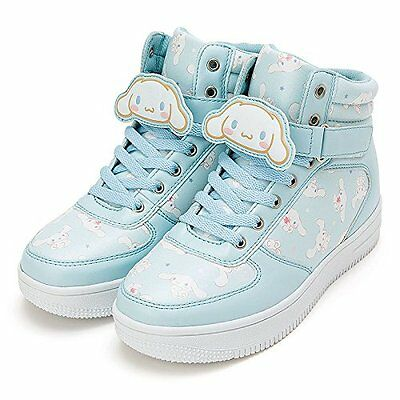 Sanrio Cinnamoroll High-Cut Sneakers with Character Clip M Size 847984 New