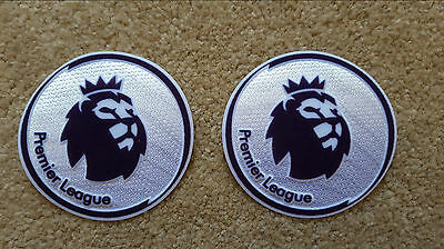 2016-17 PREMIER LEAGUE Soccer Football Badge Patch Set NEW