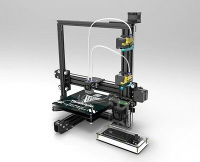 TEVO TARANTULA i3 DUAL HEAD PRO EXTRUDER 3D PRINTER DIY KIT LARGE BED+AUTO LEVEL