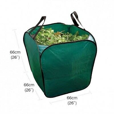 Garland Large free standing Green Garden Bag for rubbish leaves toys laundry
