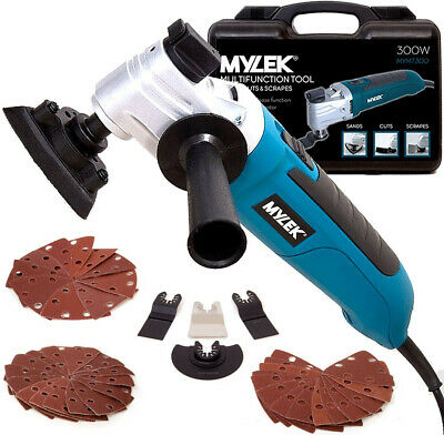 MYLEK Oscillating Multi Tool Multifunction DIY 48 Piece Accessory Kit 300W