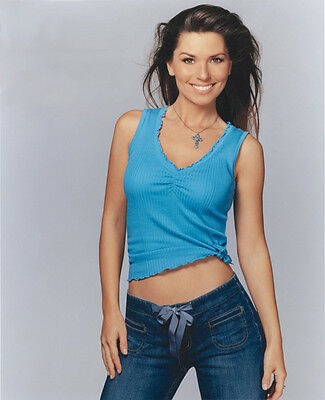 Shania Twain UNSIGNED photo - E639 - SEXY!!!!!