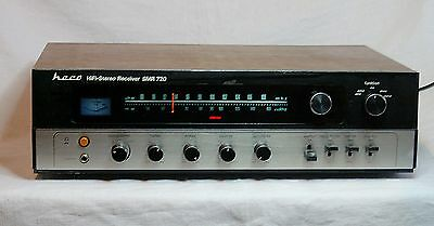 Heco SMR 720 Woodcase HiFi Receiver - Vintage Stereo-Receiver Heco SMR 720
