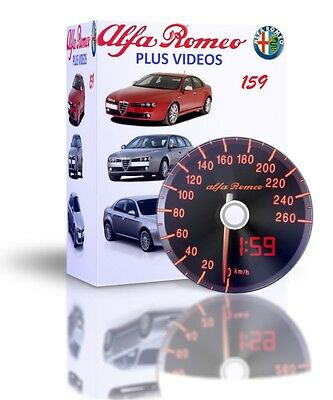 Alfa Romeo 159 Complete Workshop And Service Manual PLUS VIDEOS DVD