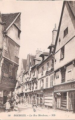 CPA - Bourges - Rue Mirabeau