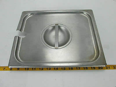Half Size Pan Lid Slotted for Spoon Steam Table Restaurant Buffet Cater SKU A T