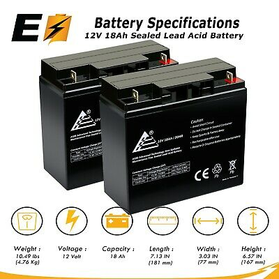 This is an AJC Brand Replacement APC Dell Smart-UPS 1500 DLA1500I DLA1500RMT5SU 12V 18Ah UPS Battery