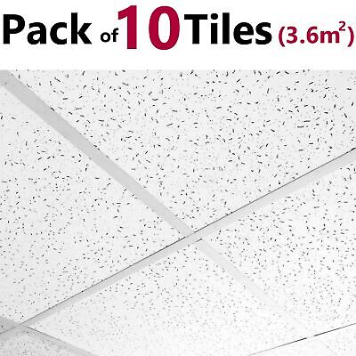 Suspended Ceiling Tiles Fine ND Fissured 595x595mm 600x600 Full Sealed Box Board