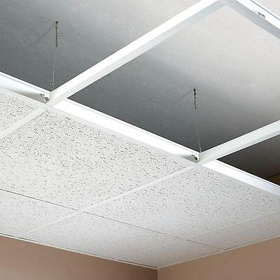 Suspended Ceiling Tiles Grid Main Runner T Bar Trims Wall Angle, Cross Tee Wire